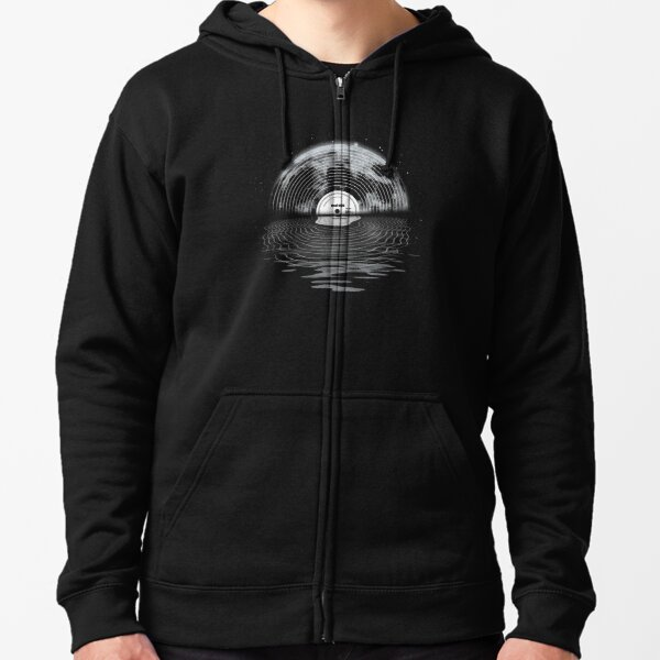 Moon Song Zipped Hoodie