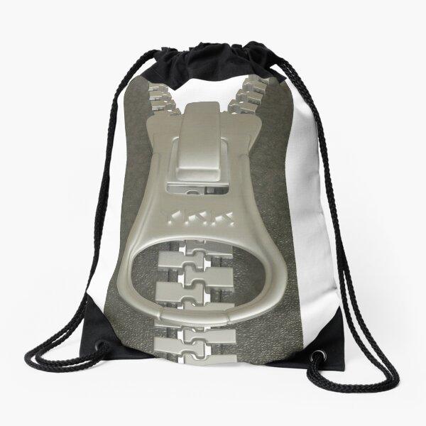3D Clothing Zipper Drawstring Bag