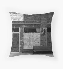 recession Throw Pillow