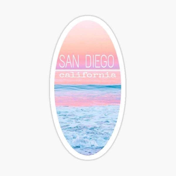 San Diego sunset Sticker