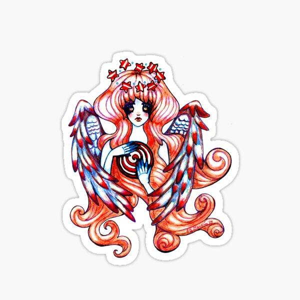 Angel Of The Stars 1 image by Stephanie Ann Garcia Sticker