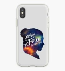 May the Force be With You - Carrie Fisher -Princess Leia Tribute Shirt iPhone Case