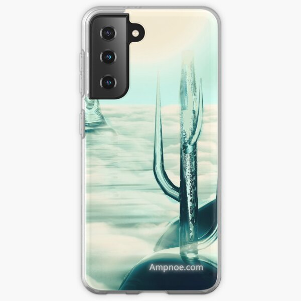 """""""Human's Project"""" (Cold Light) Samsung Galaxy Soft Case"""