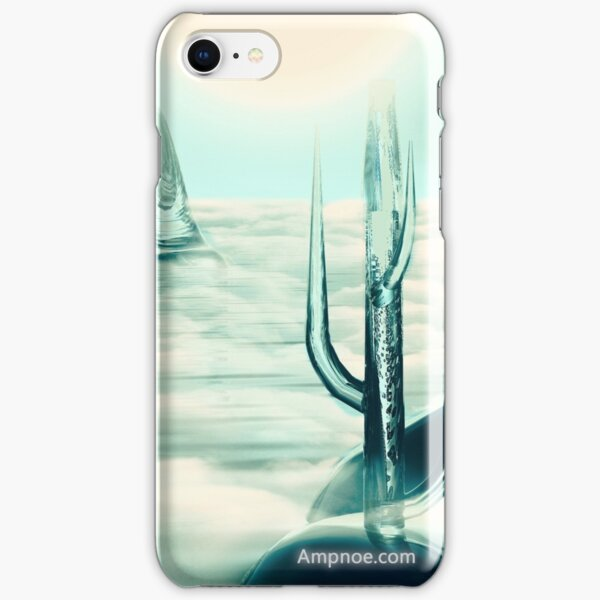"""Human's Project"" (Cold Light) iPhone Snap Case"