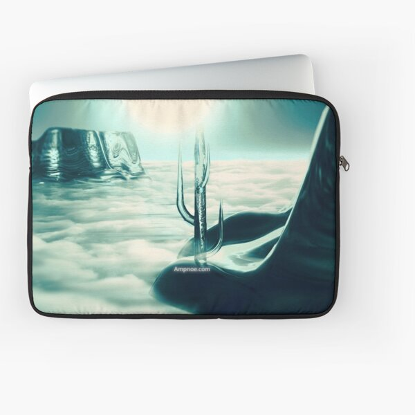 """Human's Project"" (Cold Light) Laptop Sleeve"