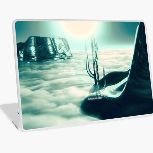"""Human's Project"" (Cold Light) Laptop Skin"