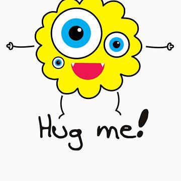 Hug me! by hellomaruko
