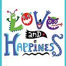 Calendar - May Love & Happiness  by Andi Bird