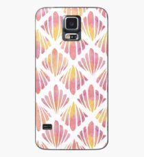 Seashell platzen Hülle & Klebefolie für Samsung Galaxy