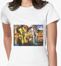 Salvador Dali Wall Art, Cards, Stickers, Many Items Women's Fitted T-Shirt