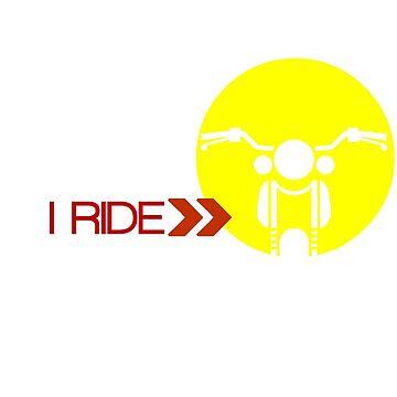 I Ride by junpinzon