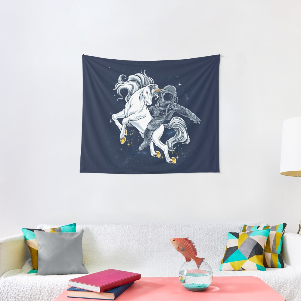 Space Rodeo Tapestry