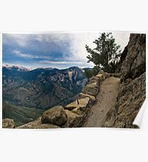 Up Moro Rock with a View Poster
