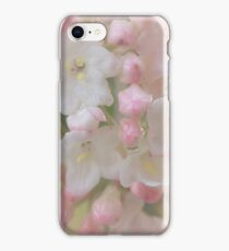 Delicate blossoms iPhone Case/Skin
