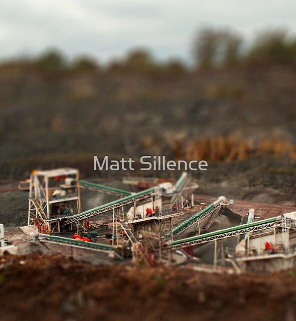 Tilt Shift of the Quarry by Matt Sillence