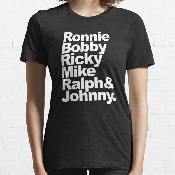 New Edition Ronnie, Bobby, Ricky, Mike, Ralph & Johnny 80's Shirt Essential T-Shirt