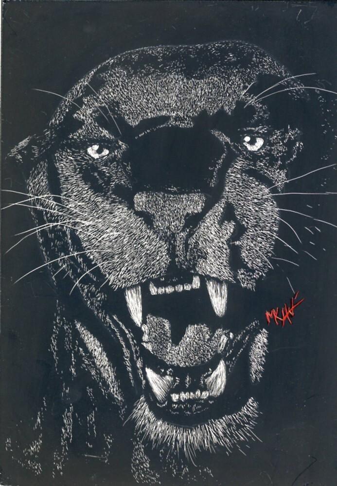 Panther Claybord by akaikatsugan