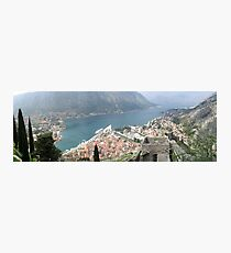 an awesome Montenegro Photographic Print