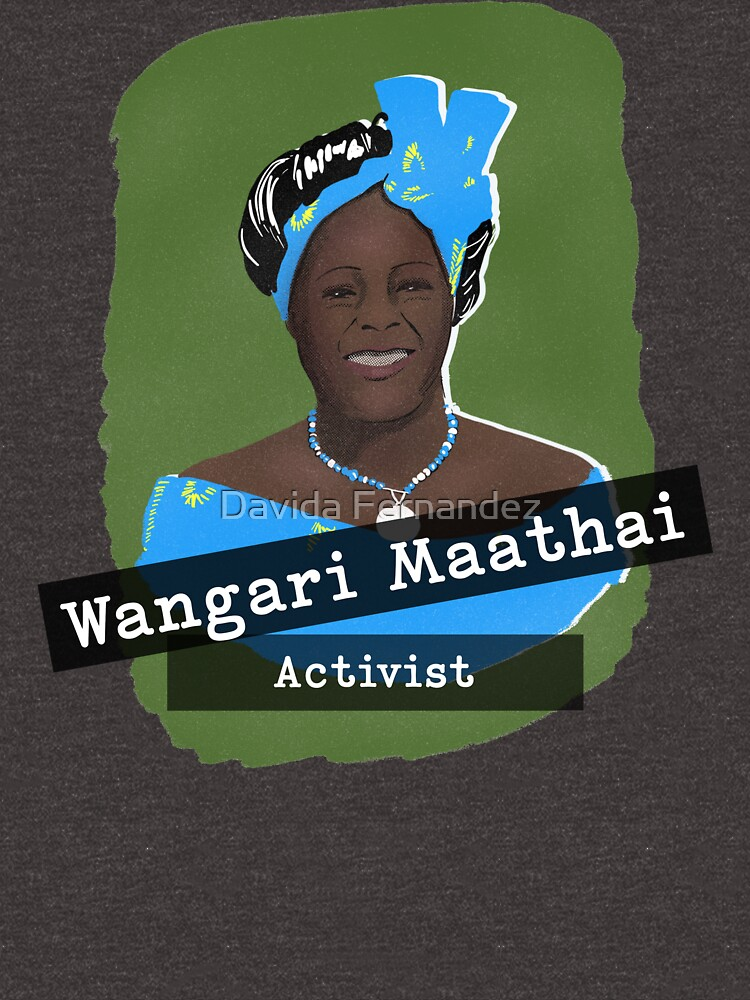 Herstory Portrait: Wangari Maathai by divafern