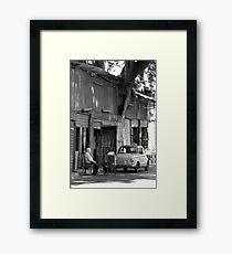 Relax in Sicily Framed Print