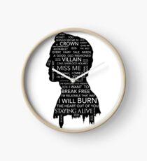 Jim Moriarty • Sherlock BBC Clock