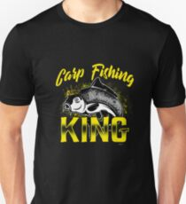 Carp fishing king gift  Unisex T-Shirt