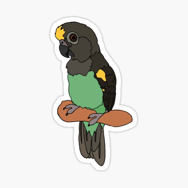 Meyers Parrot Sticker