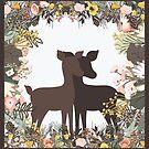 Shadowbox Deer by Ruth Moratz