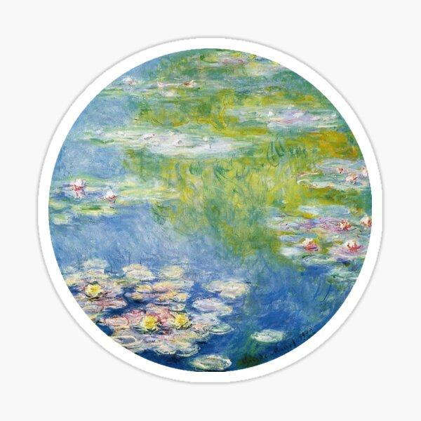 Monet Water Lillies Sticker