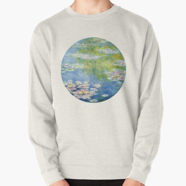 Monet Water Lillies Pullover Sweatshirt