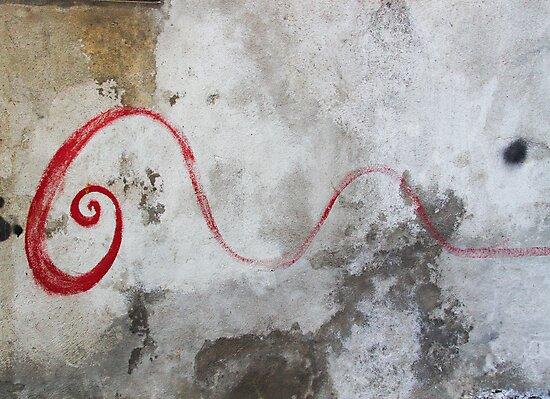 Red Swirl by Robert Kalman