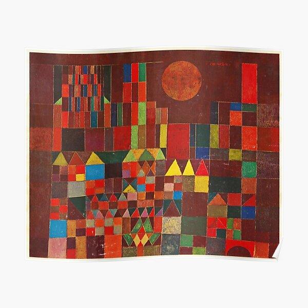 Paul Klee - Château et Soleil Poster
