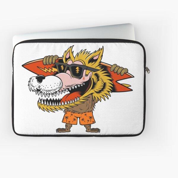Blonde Wolf surfer  Laptop Sleeve