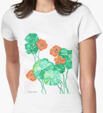 Nasturtiums Women's Fitted T-Shirt