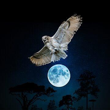 Eagle owl - gift idea by Dagostino
