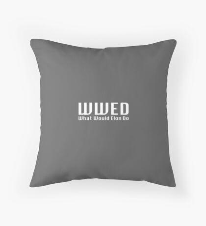 What Would Elon Do Floor Pillow