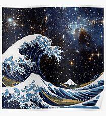 Póster Hokusai y LH95 - La gran ola de Kanagawa