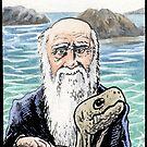 Charles Darwin by SnakeArtist