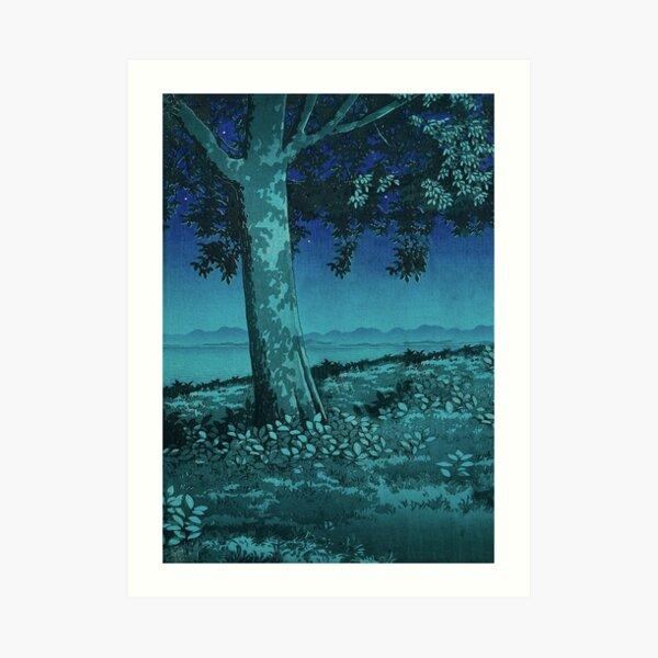 Nightime in Gissei Art Print