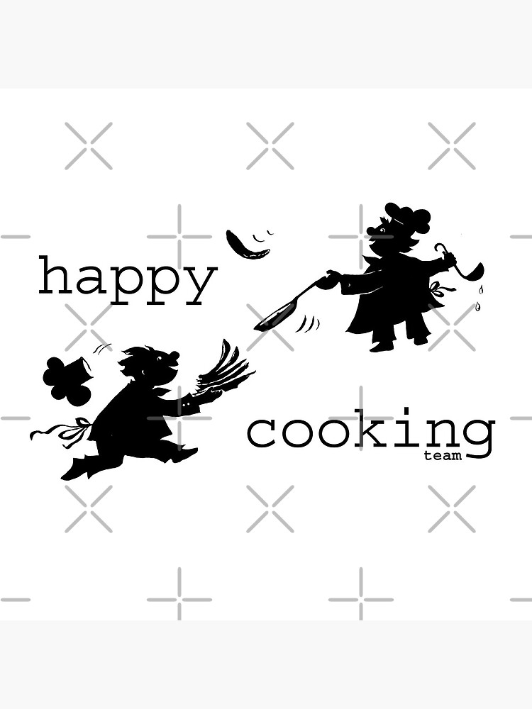 happy cooking team  · Delicious pancakes, happy cooks! by reflejArte