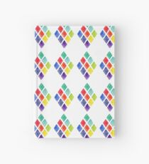 Painted Argyle Hardcover Journal