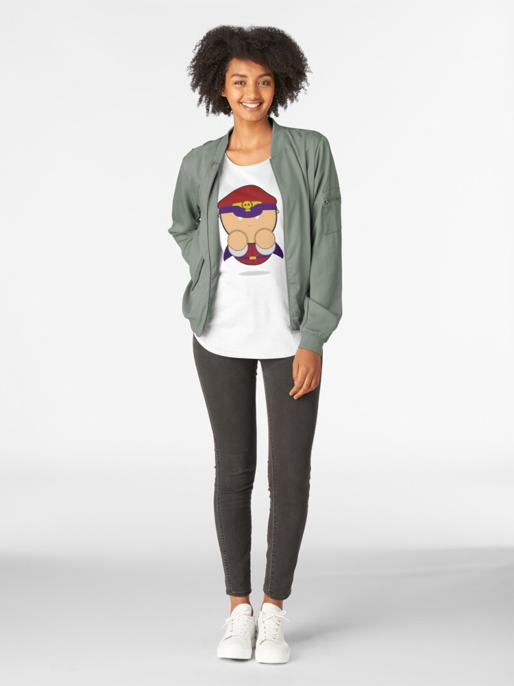 Alternate view of M. Bison Premium Scoop T-Shirt