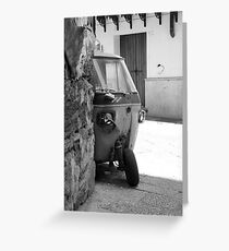 Sicilia  Greeting Card