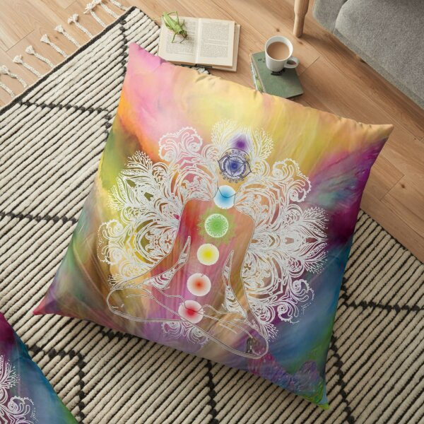 Chakra Balance Floor Pillow