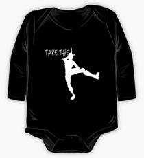 Body de manga larga para bebé Tomar la l