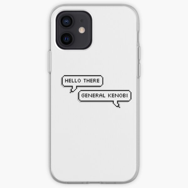 Hello There iPhone Soft Case