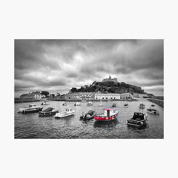 St Michael's Mount, Cornwall Photographic Print
