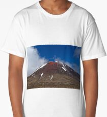 Mount Ruapehu Long T-Shirt