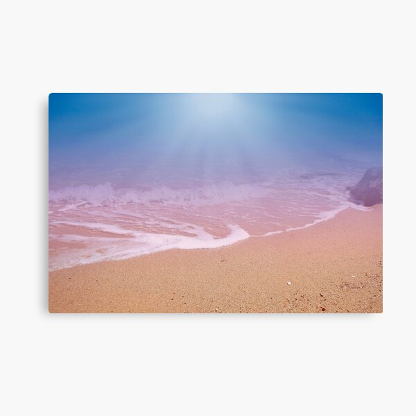 Dreamland Beach and Seashore In The Morning 2 Canvas Print