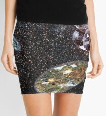 Escape From Earth Mini Skirt